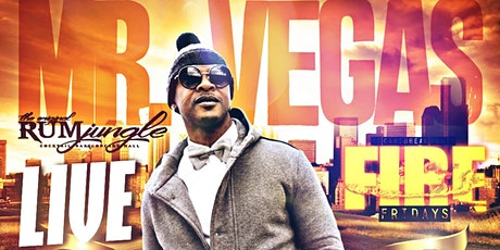 Mr Vegas Live tickets