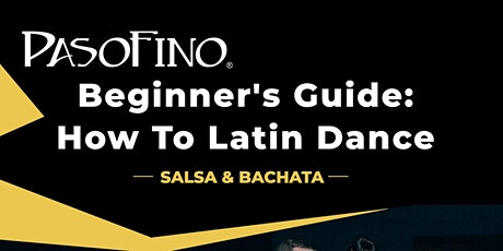 #1 Salsa Dancing for New Students: Beginner's Monday in Atlanta tickets