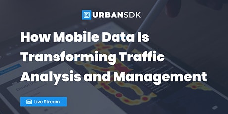 How Mobile Data Is Transforming Traffic Analysis and Management tickets