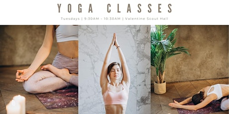 Weekly Yoga Classes tickets