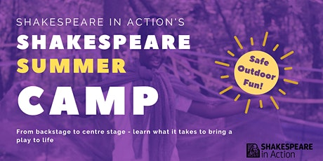 Shakespeare Summer Camp 2021 (Ages 7-10) tickets