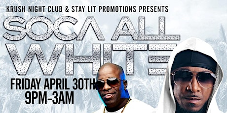 Soca All White entradas