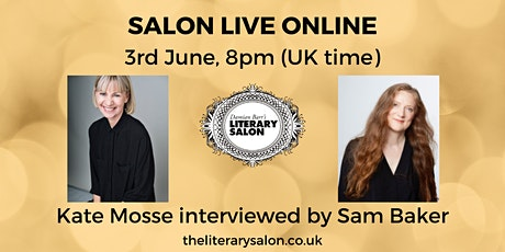 Salon LIVE Online: Kate Mosse interviewed by Sam Baker tickets