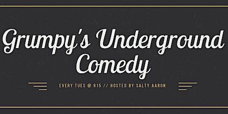 Grumpy's Underground Comedy Open Mic tickets