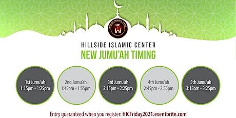 HIC Jumu'ah 2021 Registration (Required) tickets