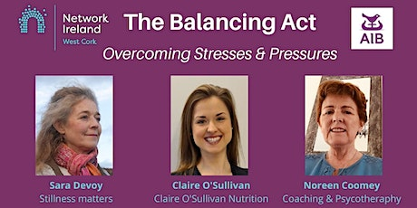 The Balancing Act|Overcoming Stresses & Pressures tickets