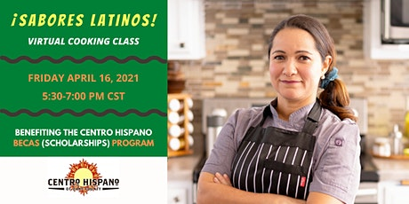 ¡Sabores Latinos! Virtual Cooking Class tickets
