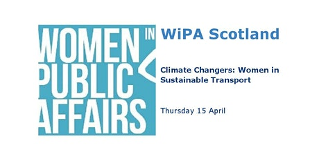 WiPA Scotland presents Climate Changers: Women in Sustainable Transport tickets