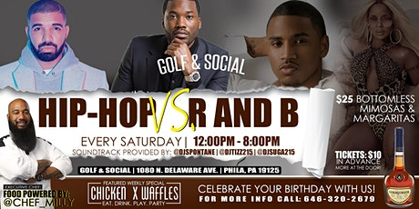 HIP-HOP VS. R & B THE ULTIMATE CHICKEN & WAFFLES INDOOR/OUTDOOR DAY PARTY tickets
