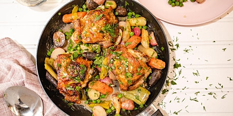 Homemade Events: FREE Best One Pan Chicken with Spring Veggies tickets
