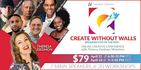 Create Without Walls Online Creative Conference tickets