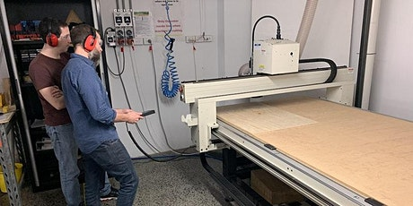 Facility Induction: CNC Router tickets