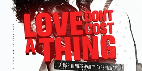 LOVE DONT COST A THING R&B DINNER EXPERIENCE at HARLOT FRIDAYS tickets