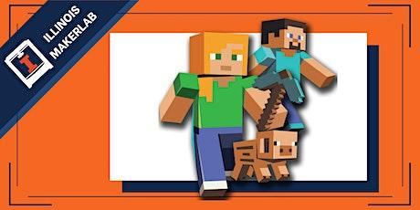 Minecraft + 3D Printing Online Summer Camp tickets