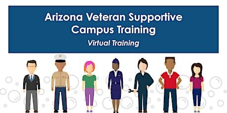 Arizona Veteran Supportive Campus Training tickets