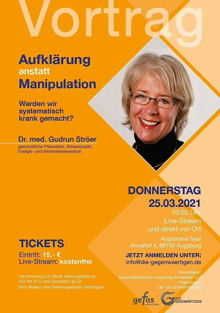 gefas-Vortrag mit Ärztin Dr. med. Gudrun Ströer: Bild
