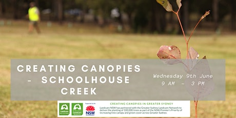 Creating Canopies at Schoolhouse Creek tickets