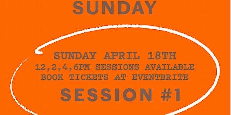 Sunday Session #1 Paul Carmichael X Jenna Hemsworth tickets