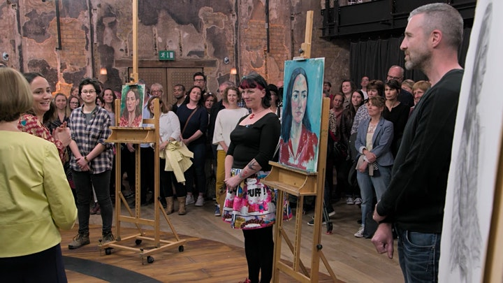 Portrait Painting in Oils with Portrait Artist of the Year Contestant image