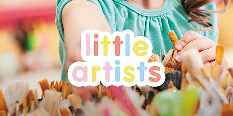 Little Artists Week 2 Plaster Scultpture Painting Carnes Hill Marketplace tickets