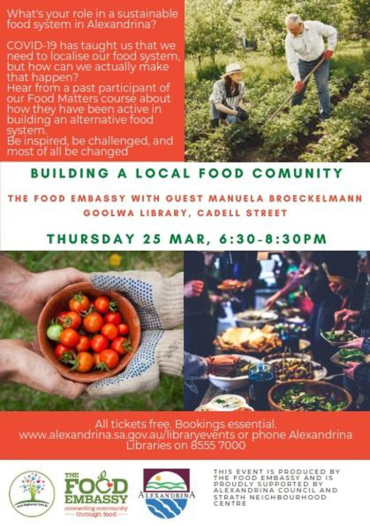 Building A Local Food Community image