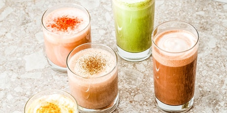 Make a delicious plant-based functional latte with Landish tickets