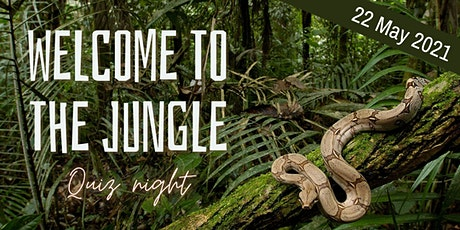 Welcome to the Jungle - Pongakawa School - Quiz night 2021 tickets