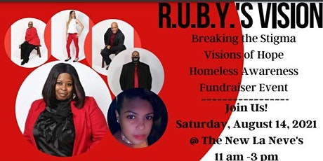 Ruby's Vision Homeless Awareness Event tickets