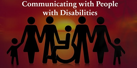 Communicating with People with Disabilities tickets