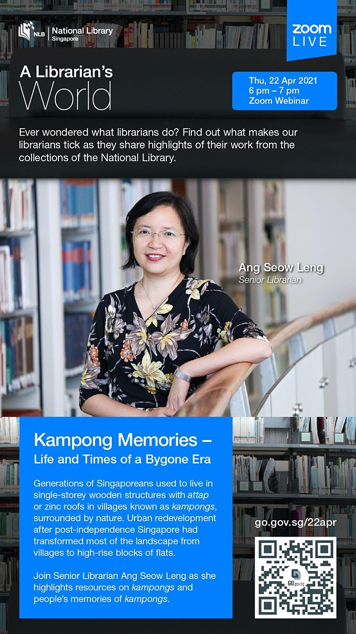 A Librarian's World: Kampong Memories – Life and Times of a Bygone Era image