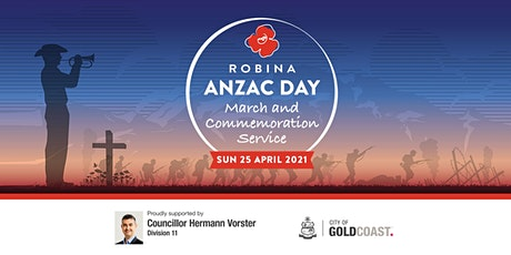 Robina Anzac Day 2021 - Service Only tickets