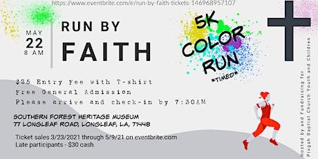 Run by Faith tickets