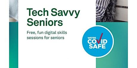 Tech Savvy Seniors, Smartphones Android - Kurri Kurri Library tickets