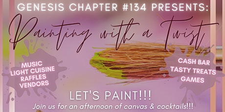 Genesis Chapter #134 Presents Painting With a Twist tickets