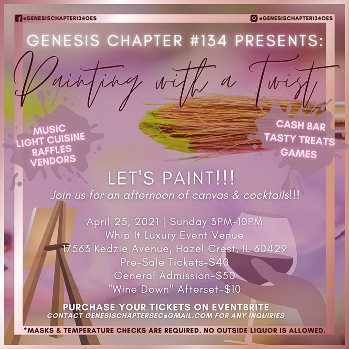 Genesis Chapter #134 Presents Painting With a Twist image