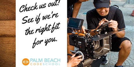 Digital Filmmaking Program - Join us for a Private or Virtual Tour tickets