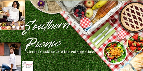 Cooking and Wine Pairing Class: Southern Picnic tickets