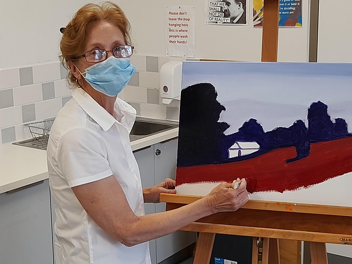Introductory Offer!  Adults Acrylic Painting Workshop for Beginners image