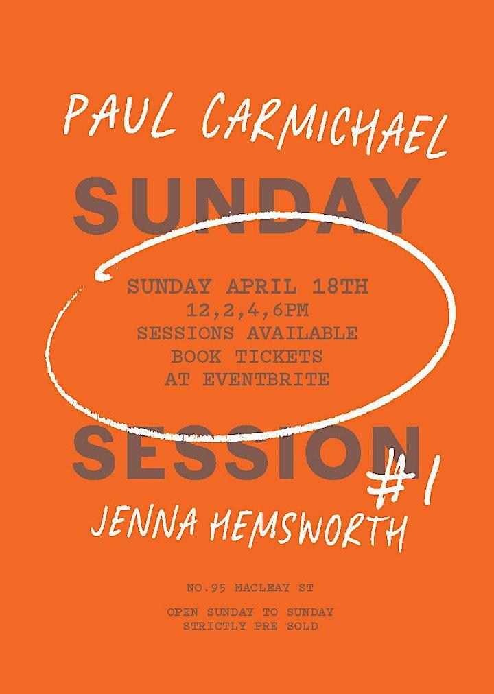 Sunday Session #1 Paul Carmichael X Jenna Hemsworth image