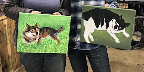 Pet Portrait Paint Class at Methven Family Vineyards Estate tickets