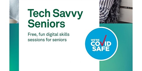 Tech Savvy Seniors, Sharing Photos -Cessnock Library tickets