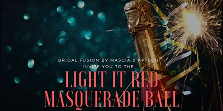 The Light It Red Masquerade Ball -  Code REaD Dylexia Network.. tickets