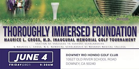 Maurice L. Gross, M.D. Inaugural  Memorial Golf Tournament tickets