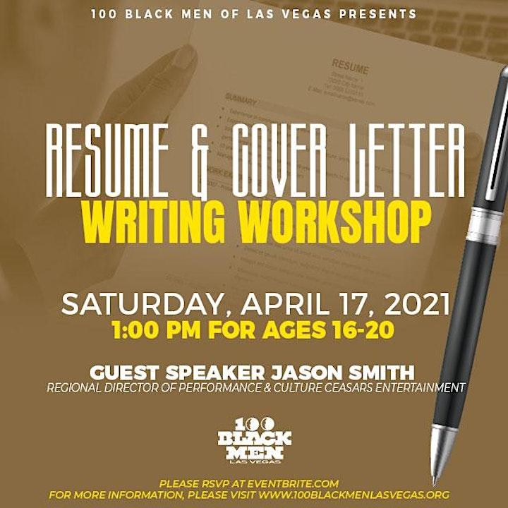 100 Black Men of Las Vegas Cover Letter and Resume Writing Workshop image
