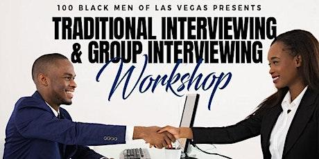 100 Black Men of Las Vegas Virtual Interviewing  Skills Workshop tickets