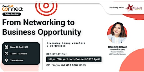 From Networking to Business Opportunity tickets