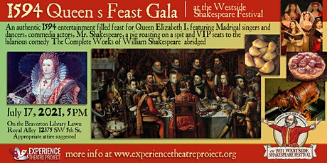 Queen's Feast Dinner & Madrigal at the Westside Shakespeare Festival tickets