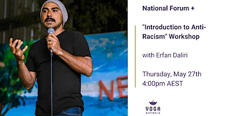 """National Forum + """"Introduction to Anti-Racism"""" Workshop tickets"""