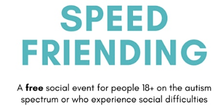Speed Friending tickets