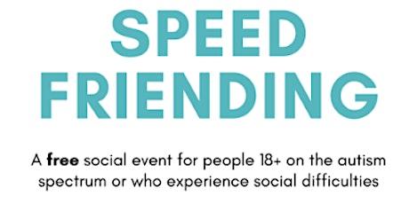 Speed Friending tickets